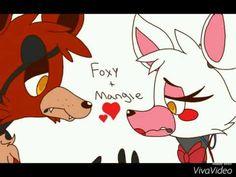 FNAF - Foxy's kiss (Foxy x Mangle)