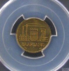 1954 Saarland German Republic State 10 Franken *PCGS MS66*