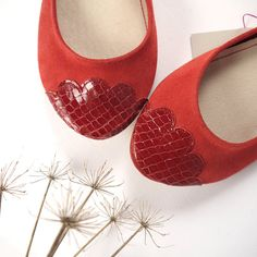 The Lizzie Shoes  Limited Serie of Leather Handmade by elehandmade, $130.00