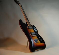 Guild Thunderbird - this is Dan Auerbach's current favorite guitar.