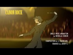 Created in one week as part of a class assignment to make an animation set to music. A full version of the film is currently in pre-production, and . Pachelbel's Canon, How To Make Animations, Pre Production, Rock, Film, Movie Posters, Movie, Film Stock, Skirt