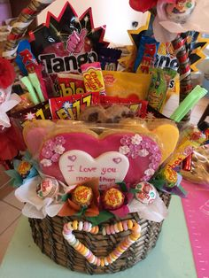 Candy Jax and honey's gift basket