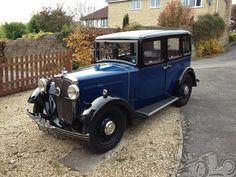Morris 10/4 Pre Series Saloon 1934.