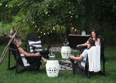 Hosting A Laid Back Girls Night Under The Stars