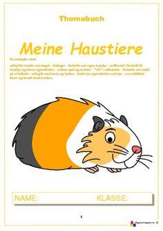 Haustiere 1.2 – opgavemappen.nu Pikachu, German, Teaching, School Stuff, Fictional Characters, Games, Historia, Learn German, Pets
