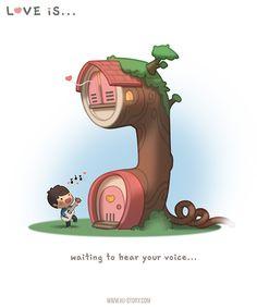 HJ-story.com – El amor es esperar a escuchar tu voz