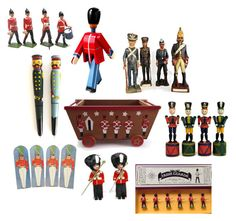 March of the Toy Soldiers - Little Boy Decor by patack on Polyvore featuring interior, interiors, interior design, home, home decor, interior decorating and vintage