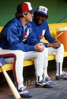 Rose and Raines Best Baseball Player, Major League Baseball Teams, Baseball Uniforms, Baseball Boys, Better Baseball, Mlb Teams, Sports Teams, Baseball Cards, Expos Baseball