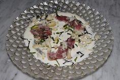 Bigeye tuna with ceviche vinaigrette and macadamia purée