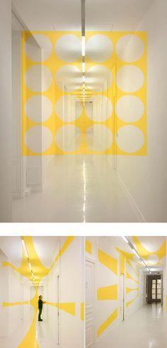 Anamorphic Illusions by Felice Varini - atelierdeveil.com
