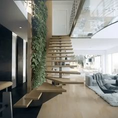 32 Brilliant Staircase Design Ideas To Beautify Your Interior - A staircase is an important part of a house. It helps the inhabitants of the house to access other parts of the house, especially the ones located in ...