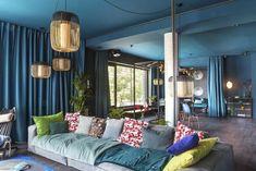VM designblogg: Η μπλε κατοικία στη Γερμανία