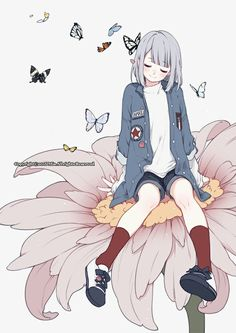 Find images and videos about cute, art and anime on We Heart It - the app to get lost in what you love. Fan Art Anime, Anime Art Girl, Anime Girls, Manga Drawing, Manga Art, Desu Desu, Character Art, Character Design, Images Kawaii