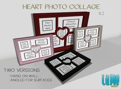 Heart PhotoCollage AD by Tea Soup, via Flickr