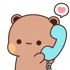 Cute Panda Cartoon, Cute Cartoon Characters, Cute Cartoon Pictures, Cute Love Memes, Cute Love Gif, Cute Love Cartoons, Cute Bear Drawings, Cute Disney Drawings, Cute Disney Wallpaper