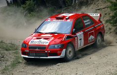 François Delecour - Daniel Grataloup 49th Acropolis Rally 2002 (Mitsubishi Lancer WRC)