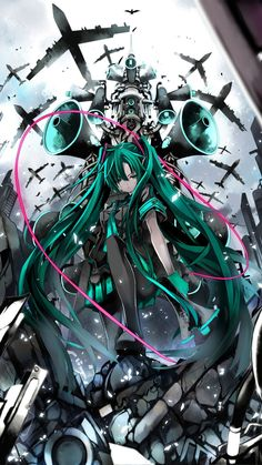 Decal Jewelry 096 Hatsune Miku Vocaloid 24 inch Silk Poster Aka Wallpaper Wall Decor By NeuHorris -- Awesome products selected by Anna Churchill