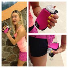 Lululemon & Amphipod Handheld Water Bottle --- great for summer runs