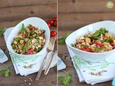 Spargel-Reis-Salat – oder auch – bye bye, liebster Spargel