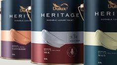 Thnadech Kummontol - Dulux Heritage (Concept) PACKAGING DESIGN World Packaging Design Society│Home of Packaging Design│Branding│Brand Design│CPG Design│FMCG Design