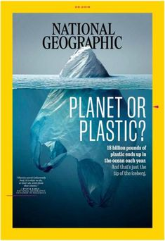 National Geographic magazine has published some startling images of the global plastic pollution scourge. Ocean Pollution, Plastic Pollution, National Geographic Magazine Subscription, National Geographic Cover, Science Magazine, World Environment Day, No Plastic, Plastic Waste, Global Plastic