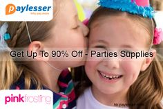 Parties Supplies-Save up to 90% on these supplies. #PinkForesting #Offer #Paylesser  Why pay more?