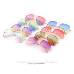 MERRY'S Модные Солнцезащитные очки Классический Море Градиент Оттенков Марка Дизайнер Солнцезащитные очки UV400 купить на AliExpress