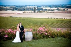 Methven Family Vineyards, in the Eola-Amity Hills AVA, has many wedding packages, including engagements, elopements, receptions and ceremonies.