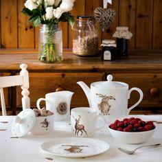 Royal-Worcester-Wrendale-1-Pint-0-6L-Farmhouse-Jug-Porcelain-Milk-Juice-Duck-New