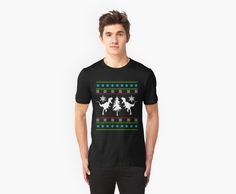 Dinosaurs Christmas ugly sweater shirt by FunnyMusicNotes