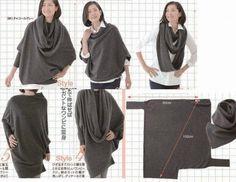 Nella valigia della Buru: La maxi-maglia versatile: le misure della Buru