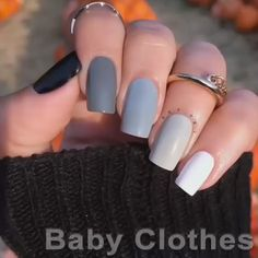 Classy Nails, Stylish Nails, Simple Nails, Trendy Nails, Simple Acrylic Nail Ideas, Fall Acrylic Nails, Acrylic Nail Designs, Autumn Nails, Nail Polish Designs