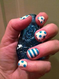 Easter Nail Art Ideas #nails | See more at http://www.nailsss.com/colorful-nail-designs/2/