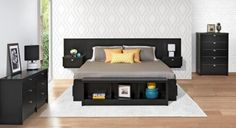 King Nightstand Headboard
