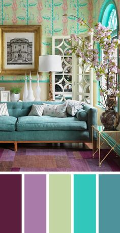 The living room color schemes to give the impression of more colorful living. Find pretty living room color scheme ideas that speak your personality. Good Living Room Colors, Colourful Living Room, Beautiful Living Rooms, Living Room Paint, Living Room Interior, Lounge Colour Schemes, Living Room Color Schemes, Living Room Designs, Decoration Chic
