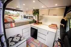 Creative Interior Design Ideas For Camper Van , Today you may see the design and you may use it like a guide, yet the design is guarded by the plastic. Design and test after you have a car, you will. Van Conversion Interior, Camper Van Conversion Diy, Van Conversion Layout, Cargo Van Conversion, Mercedes Sprinter Camper Van, Vw Camper, Dodge Camper Van, Stealth Camper Van, Camper Life