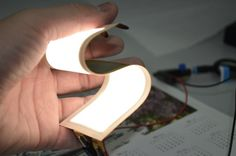 "LG Chem developed new plastic-based ""truly"" flexible OLED lighting prototypes, aimes to mass produce them in H1 2015."