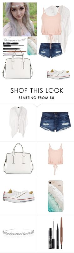 """""""-sits outside on the sidewalk sniffling-~Evelyn (talk to her please!)"""" by kahumphh-anon ❤ liked on Polyvore featuring Topshop, 3x1, French Connection, Converse, Gray Malin, MAC Cosmetics and Chantecaille"""