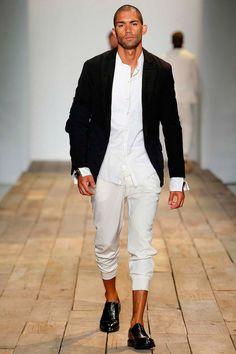 Greg Lauren SS16. menswear mens style mens fashion fashion style runway greglauren nyfwm