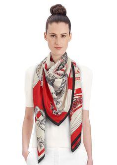 140 x 140 cm shawl Hermès | Cavalleria d'Etriers
