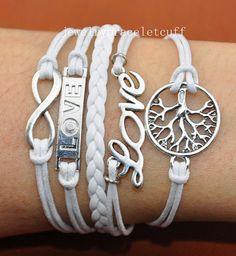 jewelry Infinity Love & wish treen Charm by jewelrybraceletcuff, $6.99