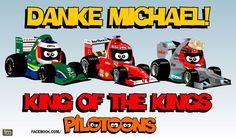formula one cartoon images | Continental Circus: Formula 1 em Cartoons - Tributo a Michael ...