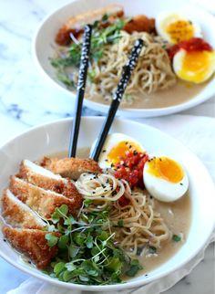 Easy Miso Ramen with Chicken Katsu Recipe   Dash of Savory