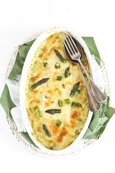 Crespelle di asparagi e taleggio. Ok. Literally just pinned this because the instructions are in italian and I got excited.