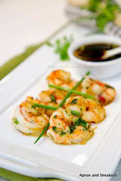 Ginger Garlic Shrimp