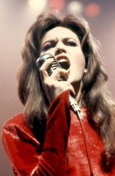 "Diane Lane in ""Streets of Fire"" 1984.  She looks so amazing, but it is really Marilyn Martin singing.  What a voice!"