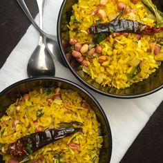 Brunch for me and mine!  Good thing is we both love Poha- flat rice, tempered with sesame seeds, coconut, curry leaves, turmeric and browned onions all with a pinch of sugar and lots of lime. Garnished with toasted peanuts.  Yum!! #foodpornshare #foodie #brunch #food #breakfast #healthy #nutritious #delicious #yummy #indian #protein #vegan #vegansofig #instafood #instagood #vegetarian #spices #homemade #fresh #saynomaste #foodblogger #ct #cteats #food #popular #me #vscofood #buzzfeedfood