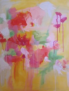 Original oil abstract on 24x30 canvas Wet by KerrySteelefineart, $490.00