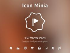 Icon Minia - 139 Vector Icons designed by Egemen Kapusuz. Connect with them on Dribbble; the global community for designers and creative professionals. Minimalist Icons, Application Design, Free Icon, Vector Icons, Icon Set, Service Design, Fonts, Presentation, Photoshop