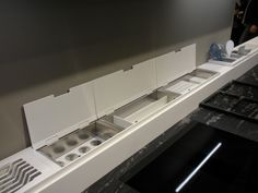 Easy rack by Domusomnia Italy http://www.domusomnia.com This is a Must...for a contemporary kitchen